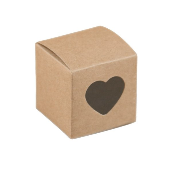kraft Paper Gift Boxes Brown Handmade Soap Packaging Boxes Party Storage box For Jewerly/Candy/Handicraft 50pcs