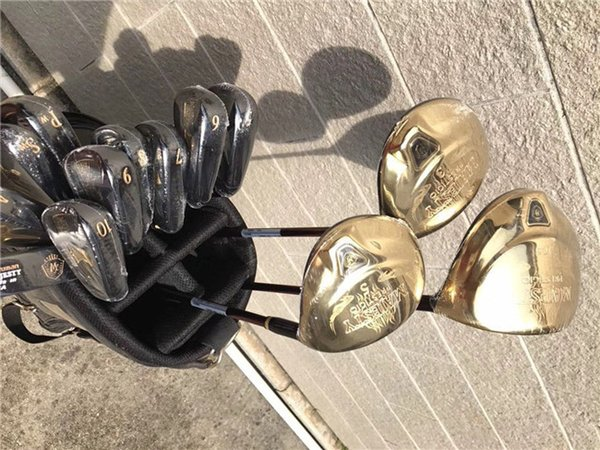 Brand New Majesty Prestigio9 Golf Set Golf Clubs Driver + Fairway Wood + Irons Putter Graphite Shaft With Head Cover