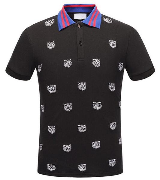 Pist Işık Pamuk polo adam için şerit ile t gömlek Yeni gelmesi İtalya tasarım marka kontrast yaka polo g t gömlek erkekler moda poloshirt 324