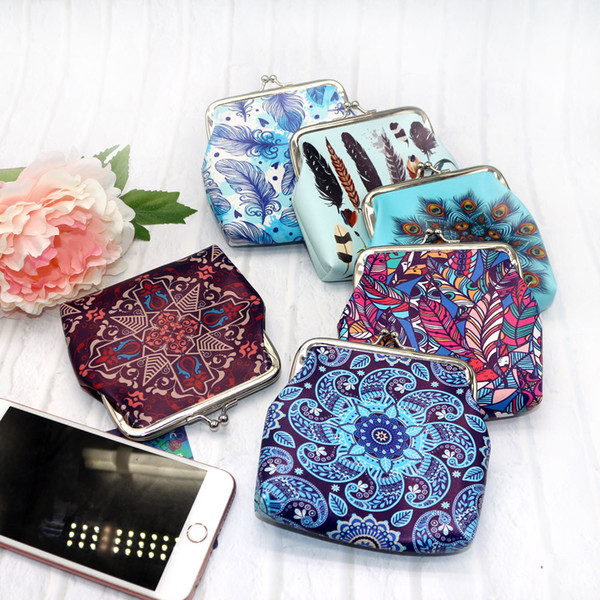 xiniu Women's Print Coin Purse Money Bag Change Small Wallet Clutch Purse womens bag monederos para mujer monedas
