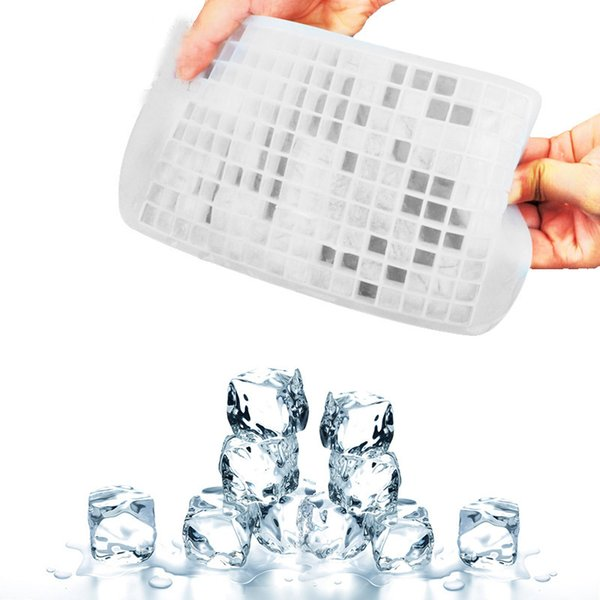 Ice Maker Mold 160 Grid Cube Diamond Square hape/150 Grid Lover Heart shape Silicone Mini ice Tray Mold Ice Chocolate Baking wn081C