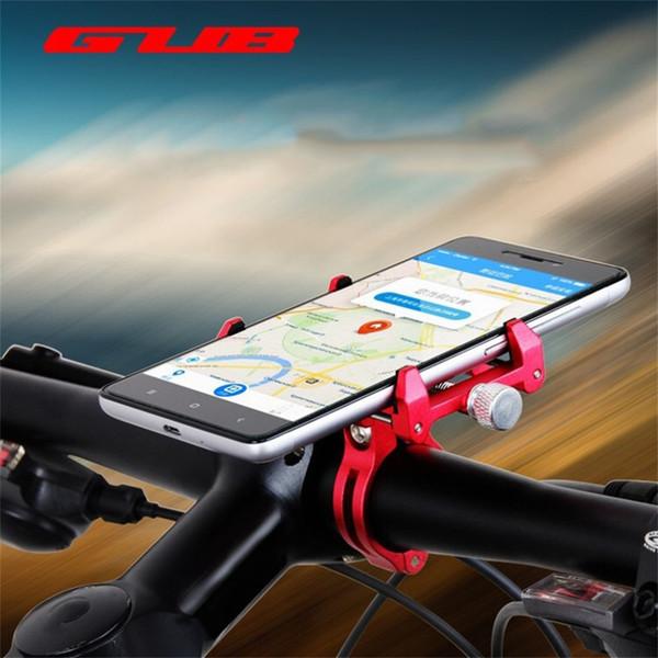G-86 Universel Vélo Vélo Support De Téléphone Support En Alliage D'aluminium Vélo Support De Guidon De Montage Support Vélo Accessoires