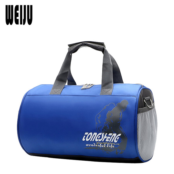WEIJU 2017 New Men Travel Bags Cylindrical Hand Luggage Bag Small Travel Bag Women Portable Bags malas de viagem