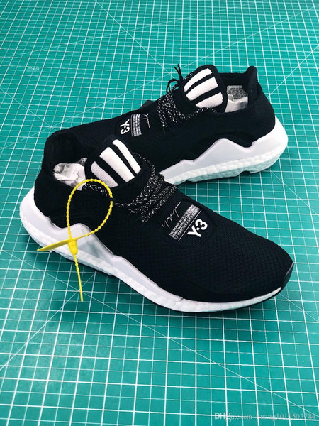 y-3 Saikou Boost Primeknit Men's Sneakers Mens Japan Luxury Brand Basketball Shoes Training Wear Casual Designer Shoes