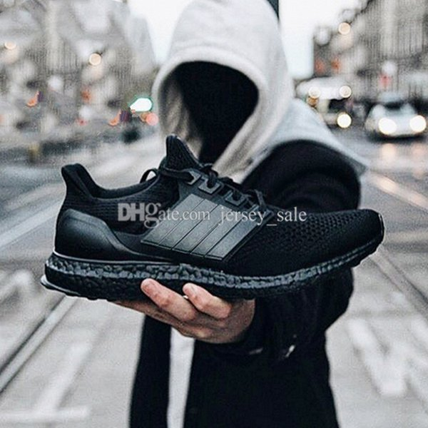 #14 Ultra Boost 2.0 Triple Black