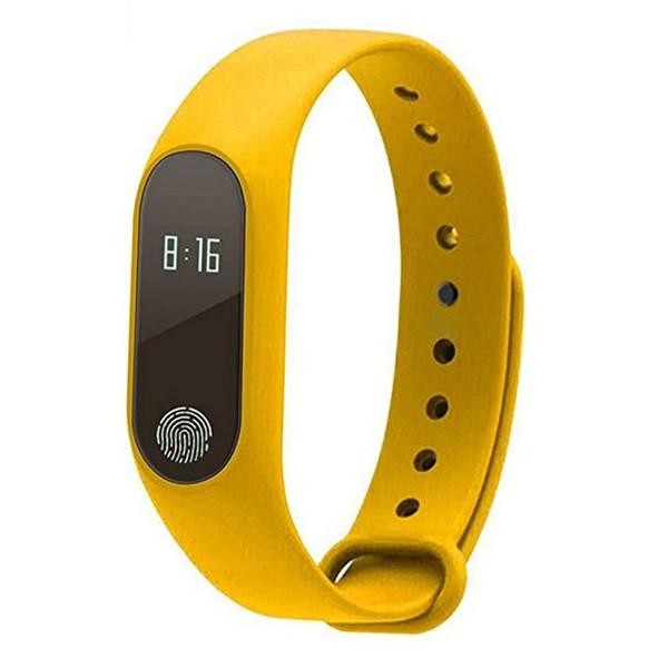 0.42 OLED Bluetooth M2 Waterproof Smart Band Running Sport Fitness Wristband Health Sleep Monitor Touchpad Heart Rate Monitor