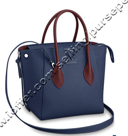 Freedom M54842 Marineblau Blau Damen Handtaschen Schultertaschen Messenger Totes Kultige Umhängetaschen Tragegriffe Clutches Evening