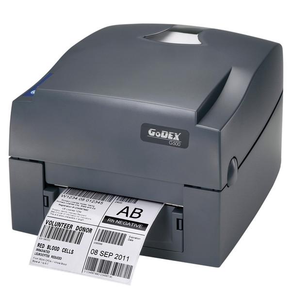 Godex imprimante à ruban G500U 203dpi étiquette de code à barres thermique imprimante USB autocollants vêtements en papier étiquette volante Impressora multifuncional
