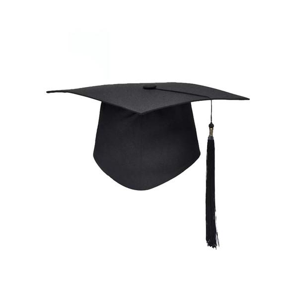 Escuela Graduación Fiesta Borlas Cap Mortarboard Universidad Soltero Maestro Doctor Académico Sombrero