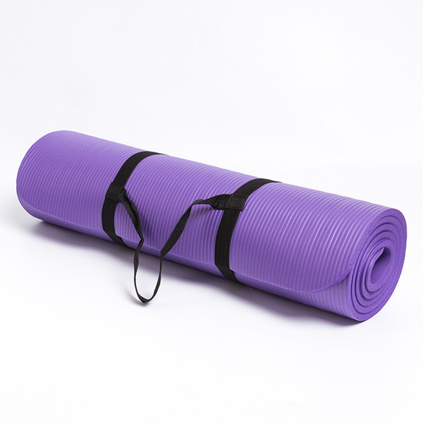 183*61*0.1cm Yoga Mats for Fitness  Pilates Pads Sport Mats Outdoor Camping Pads Picnic with Yoga Bag Strap