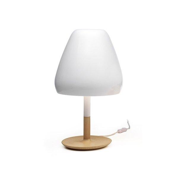 Vintage White Mushroom Table Light LED table Lamp 27 / E26 Retro For Bedroom Living Room Bedside Home lighting E116