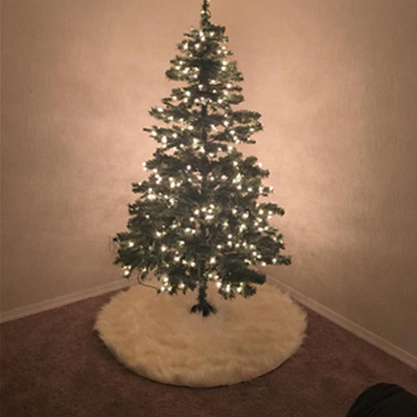 cheap christmas ornaments coupons great cheap white plush christmas tree skirt for christmas tree decoration - Where To Buy Cheap Christmas Tree