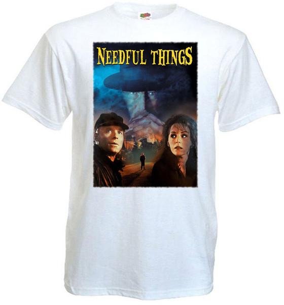 Необходимые вещи v. 4 футболка белый плакат фильма Все размеры S...5XL балахон хип-хоп размер discout горячая новая футболка