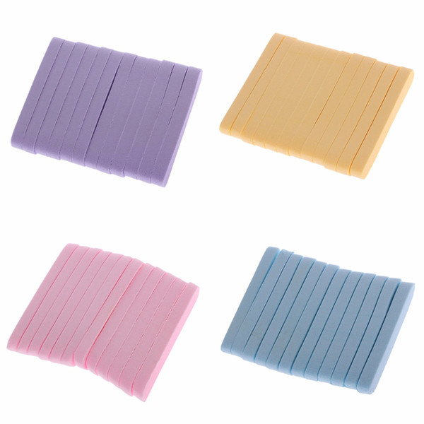 12PCS Compressed Facial Cleaning Wash Puff Sponges Stick Face Cleansing Pads
