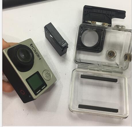 Zeitbegrenzt! Nur 13 stück! HERO4 Kamera mit Akku ohne Zubehör Ladegeräte oder Box / nur Kamera und Akku / per Epacket versenden