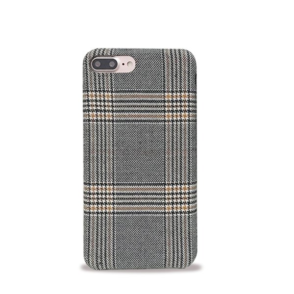 online store 21ed2 3168c Cloth Grid Phone Case For Apple IPhone X 8 7 6S 6 Plus Lattice Cute Fashion  Soft Back Cover Cases For IPhone 10 Create A Cell Phone Case Hard Cell ...