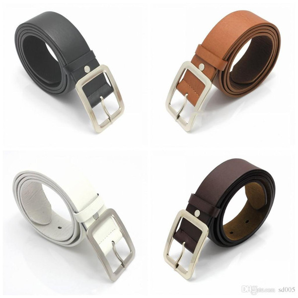Pu Leather Belts With Metal Alloy Square Pin Buckle Strap For Adult Men  Waist Belt Hot Sale 3 8dr B Jiu Jitsu Belts Gold Belt From Dd005, $1 31|
