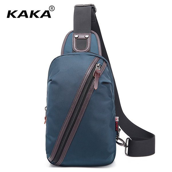 KAKA Brand Designer Moda Uomo impermeabile Borse a tracolla Donna Pacco petto Unisex Borsa a tracolla Borsa funzionale per Ipad