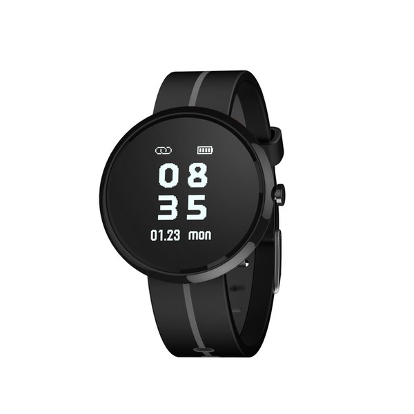 Silicone Smart Pedometer Sports Watch Calories Counter Blood Pressure Heart Rate Test Bluetooth Pedometers For Walking Running