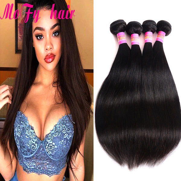 Peruvian Straight Hair 100g/piece Natural Color Human Hair Bundles 10-30 inch Available Remy Hair Free Shipping Factory Sale For Salon