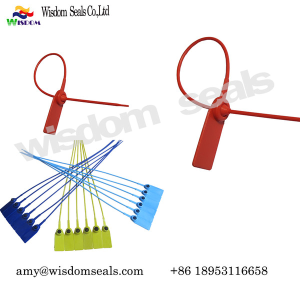 best selling Plastic Seal container lock tie Security Seals bags courier bags containers door , money bags, cash bag