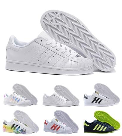 559d8d1e9441 Free shipping Man woman Superstars shoes Sneakers Super Star Casual Shoes  women Shell shoes Hot Sale
