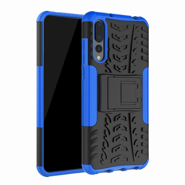 back Cover Case for Huawei P20 Pro Heavy Duty Armor Hybrid Cover TPU+PC Full Protective for Huawei P20 Pro P20Pro PC TPU bags