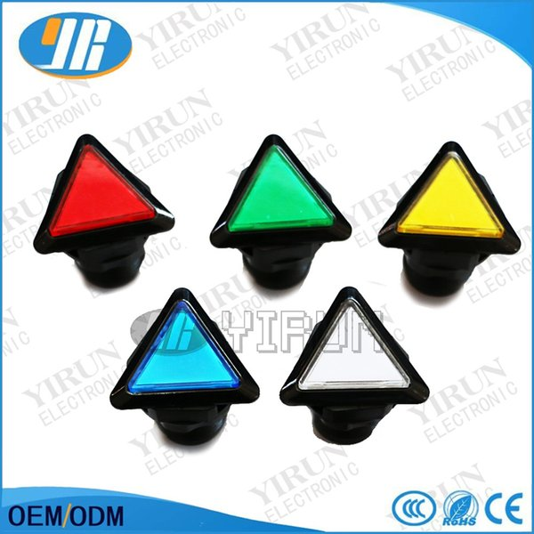 2018 Triangle Led Illuminated Push Buttons + Micro Switch For Arcade Games  Machine Parts Mame Jamma From Ken1886, $16 89 | Dhgate Com