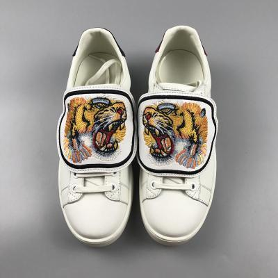 Designer Low Top White Leather Men Women Casual Shoes Fashion Tiger Cat Pineapple Blind for Love Removable Sneakers size 36-46