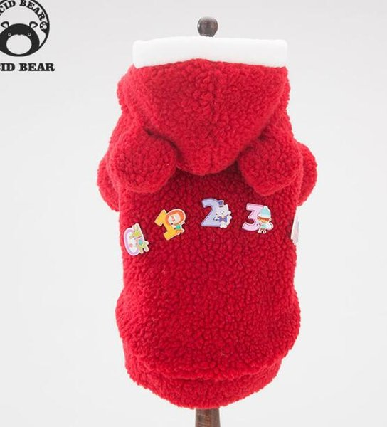 2018 New Pet Dog Clothing Autumn Winter Suit Teddy Bear Pet Coat