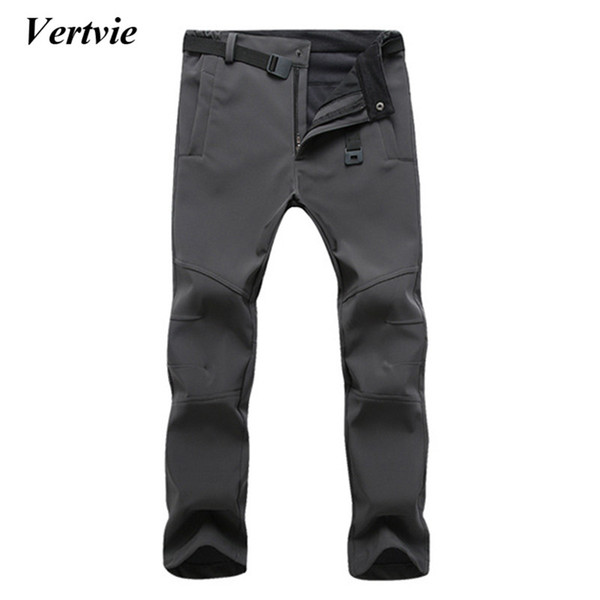 Wholesale- Vertvie Sports Pants For Men Snowobile Skiing Trousers For Men Winter Ski Pants For The Boy Snow Ice Skating Pants Sportswear