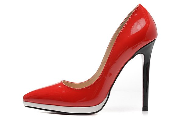 Stylesowner Top Sexy Lady New Pumps Shoes Sexy 12cm Heel Shallow Mouth Pointed Toe Party Shoe Color Match Nice Shoe Mujer