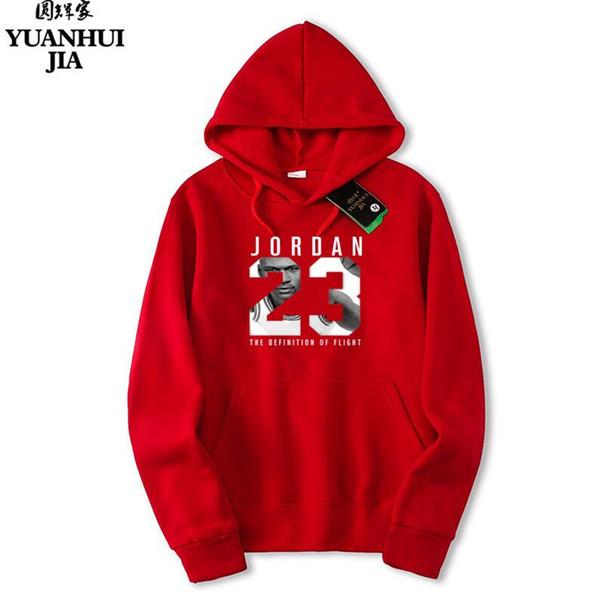 2018 23 Men Sportswear Fashion Print Mens hoodies Pullover Hip Hop Mens tracksuit Sweatshirts hoodie sweats