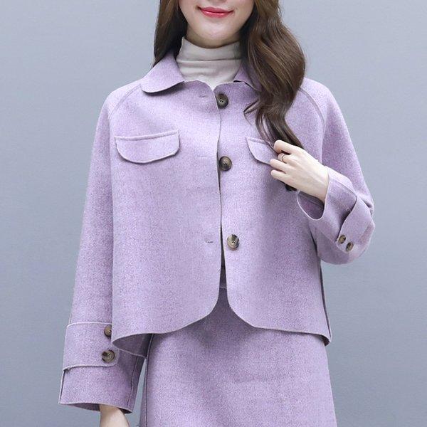 The purple coat