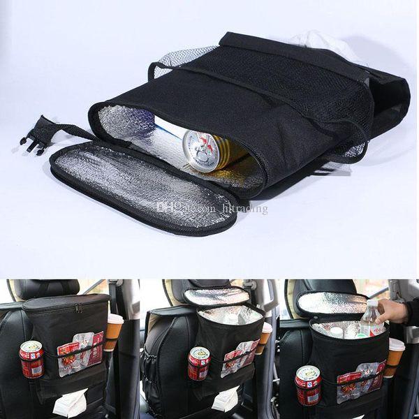 Oto Geri Araba Koltuğu Çok Cep Seyahat Depolama Asılı Çanta bezi çanta bebek çocuk araba koltuğu asılı çanta C4409