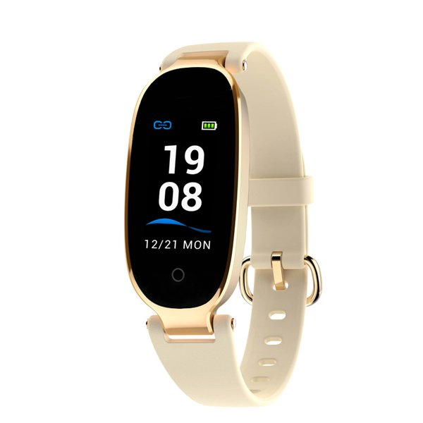 Smart Watch Women S3 Plus Color Screen Heart Rate Monitor Multi Sport Activity Tracker Smartwatch Connect Android French