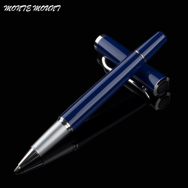 MONTE MOUNT roller pen, copper rod ballpoint pen, luxury paint 0.5mm administrative ball gel pen for men and gift box