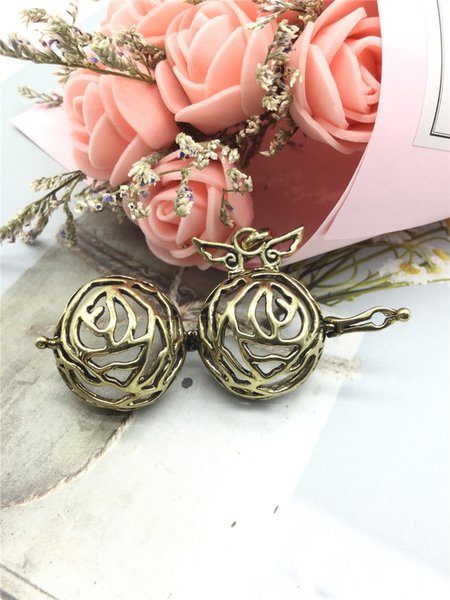 Multiple Shapes Hollow cage Pendant Women Pregnancy Necklace Making Mexico Balls Lockets Pendant Necklace For Wome