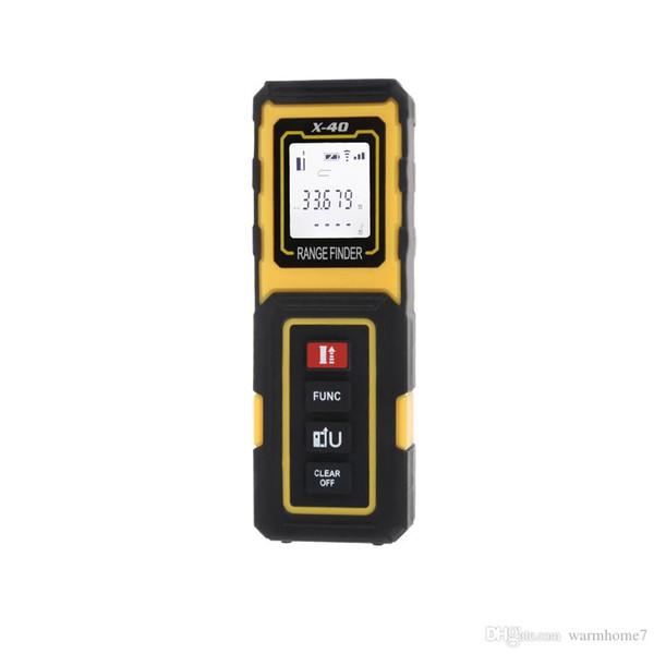 40M Multifunctional Handheld Laser Rangefinders Digital Distance Meter Measurement Instruments Range Finder Device Tester Free Shipping VB