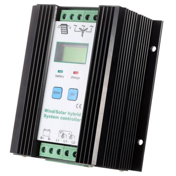 top popular Freeshipping Wind Solar Hybrid PWM Controller(600W Wind+400W Solar) 12V 24V Automatic 2021