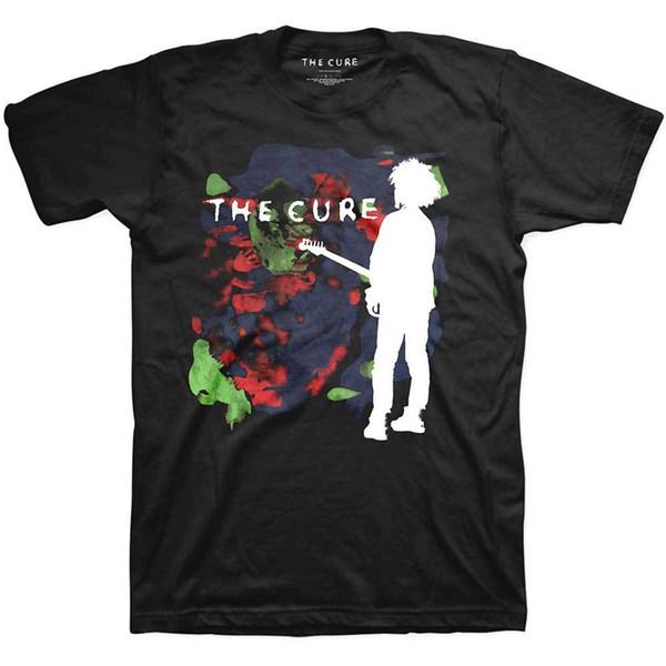 Os Cure Boys Não Choram Clr Robert Smith Rocha Tee Oficial T-shirt Dos Homens Unisex Design de Manga Curta Camiseta Simples