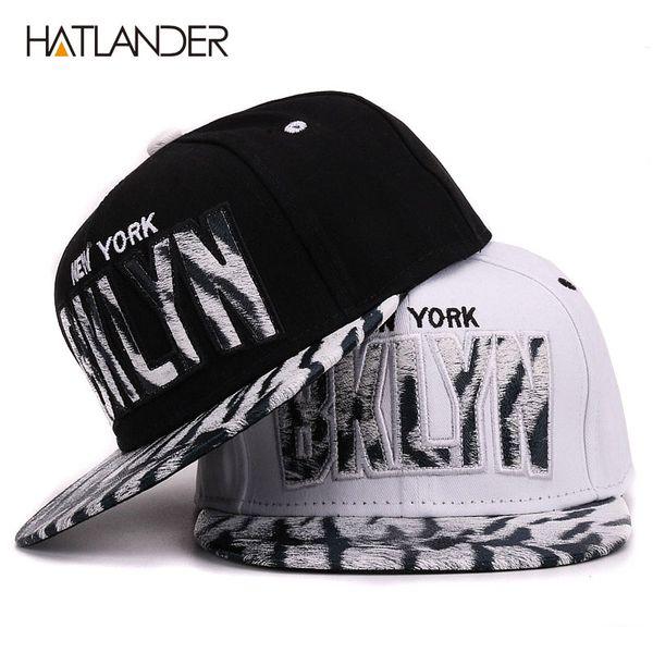 HATLANDER Brand flat brim gorra baseball cap for kids hip hop hat boys girls outdoor sun hats children letter bone snapback caps