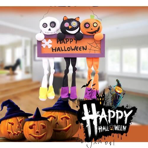 Hanging Ghost Craft For Halloween Decoration Hotel Bar Haunted House Decor Funny Joking Toys Halloween Party Supplies Indoor Outdoor