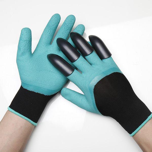 Excavating tools Glove garden protection flower gloves gardening paw gloves Genie digging gloves(3 pair)
