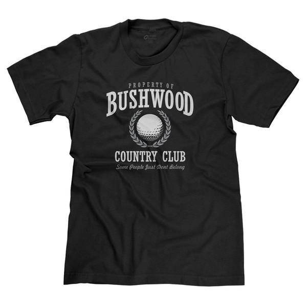 a3f4be9aa BUSHWOOD COUNTRY CLUB CADDYSHACK MURRAY FUNNY GOLF 80s MOVIES PARODY T-SHIRT  TEE Funny free