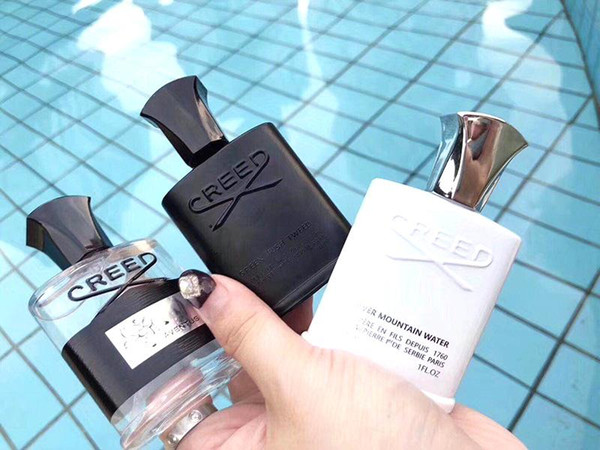 Venta caliente de Halloween de Calidad Superior 30 ml * 3 Creed Cologne Perfume para Hombres Con Alta Durabilidad Alta Fragancia de Alta Calidad Set Box Gif libre de compras