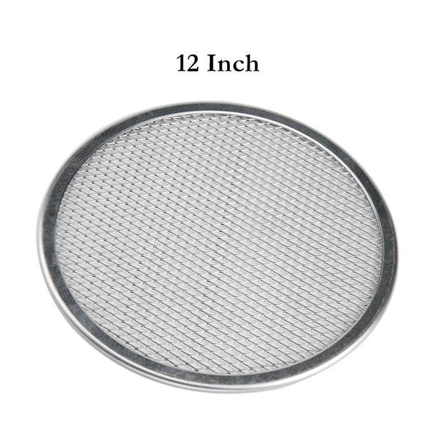 Crispers di microonda commerciali del piatto di cottura del cuoco unico rotondo della teglia di alluminio della teglia da forno della pizza di 12 pollici