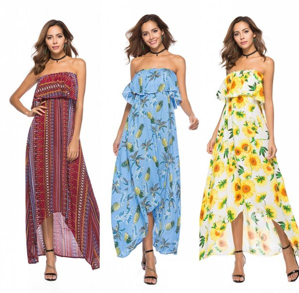 44cc441d4eb3b Long Strapless Chiffon Dress Casual Coupons, Promo Codes & Deals ...