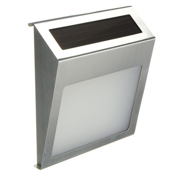 20lm étanche IP44 solaire alimenté 3 LED lumière extérieure maison adresse adresse numéro porte plaque porte lampe murale