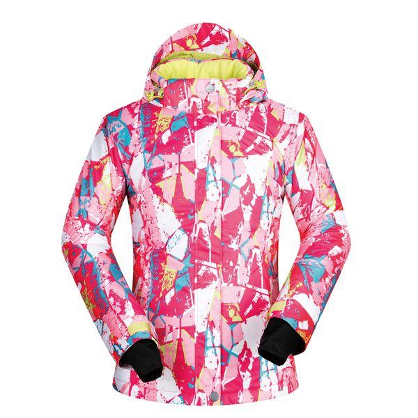 Ski Jacket Women Winter Hot Sale Snow Underwear Outdoor Single Ski Windproof Thermal Coat Warm Brands Snowboarding Women Jacket